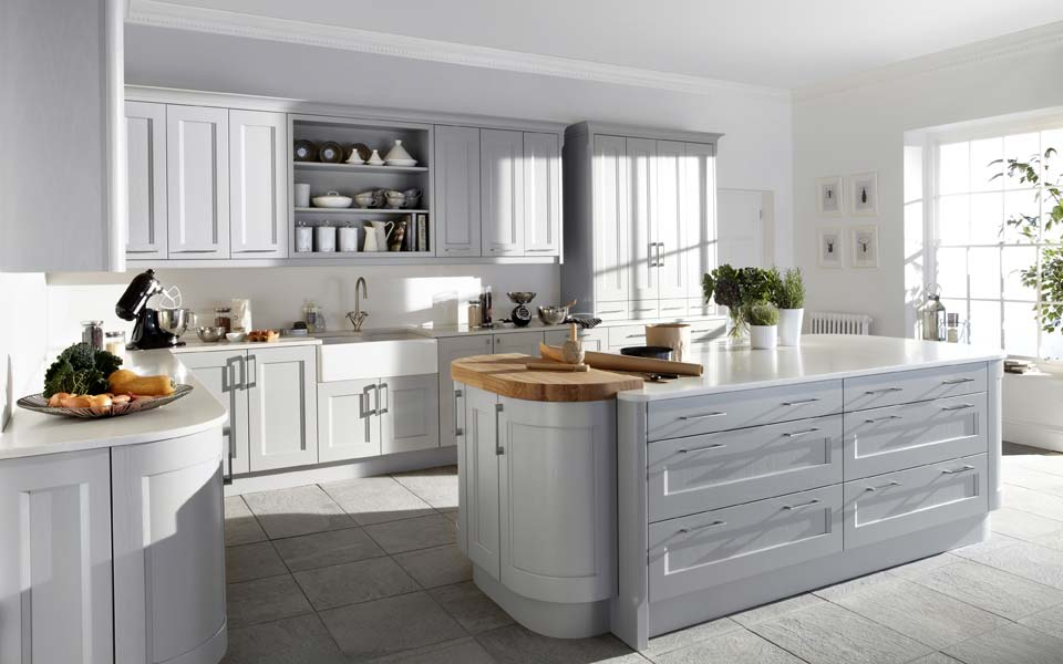 British made modern kitchens wolverhampton for Contemporary fitted kitchens