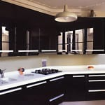 Image of White Corian Worktop