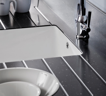 Black Encore Worktop