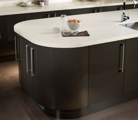 Black and White Encore Worktop