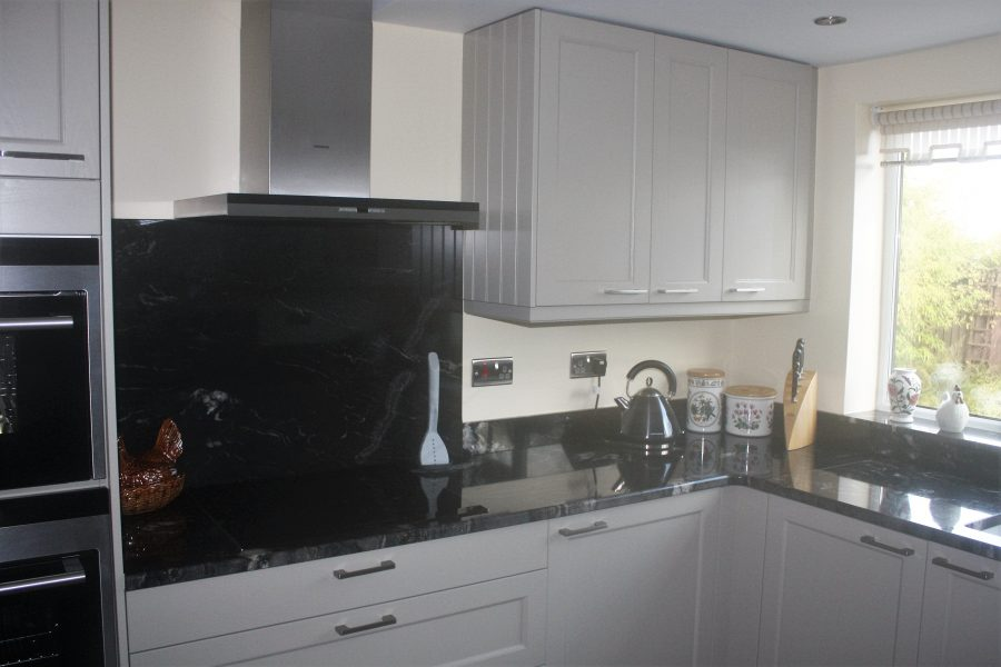 Pebble Grey Fitted Kitchen From Room By Room Wolverhampton UK - Grey fitted kitchens
