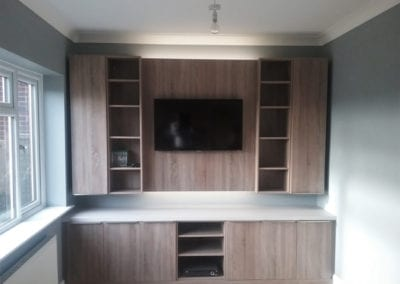 Oak Home Study/Media Centre – Fitted Home Study