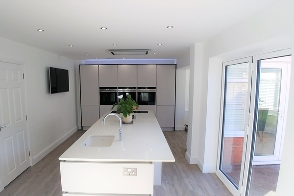 Image of White Fitted Kitchen