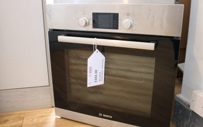 Bosch Built In Oven HBA13R150B £342.30