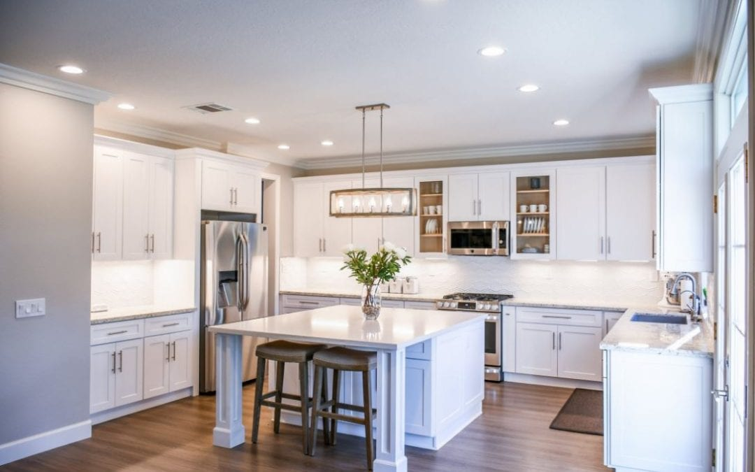 Image of a new kitchen design.