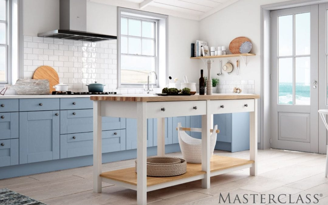 Image of an open-design kitchen.