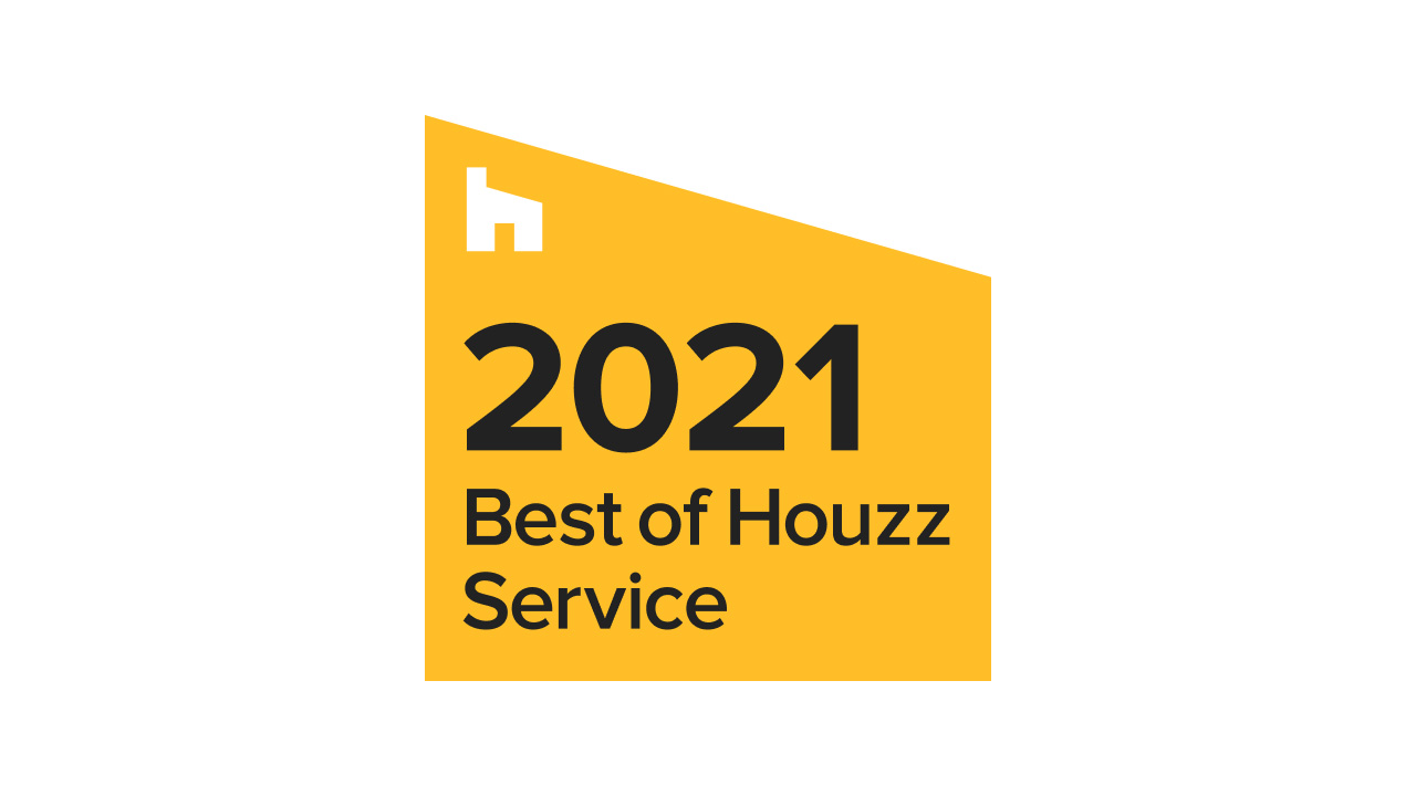 Image of the 'Best of Houzz Service 2021' award.